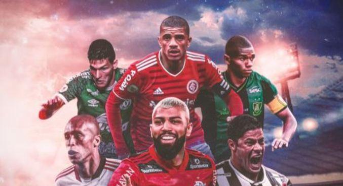 Este ano os jogadores estão estampados na capa