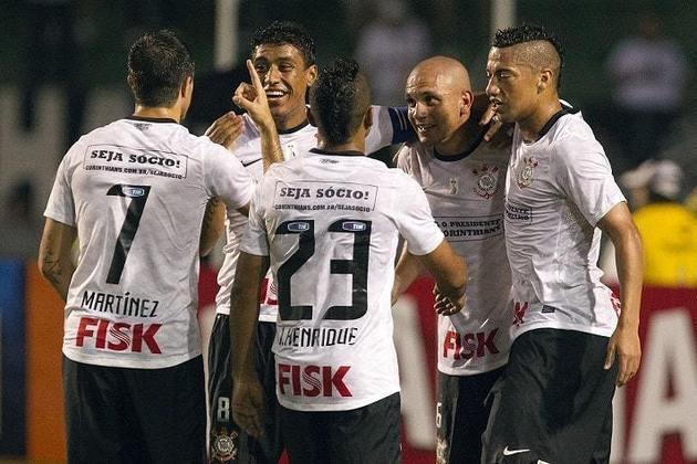 Brasileirão-2012 - 19 jogos, 9 vitórias, 6 empates e 4 derrotas - 33 pontos - 57,89% de aproveitamento