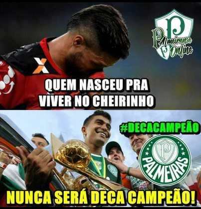 Brasileirão 2018 - O Palmeiras voltou a ser campeão nacional, dessa vez sob o comando de Felipão. O Flamengo ficou com o vice