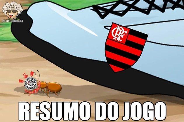 Brasileirão 2019: mais uma derrota marcante, dessa vez para o Flamengo comandado por Jorge Jesus. O resultado de 4 a 1 derrubou o técnico Fábio Carille. Os gols da partida foram marcados por Bruno Henrique (3) e Vitinho. Mateus Vital descontou.