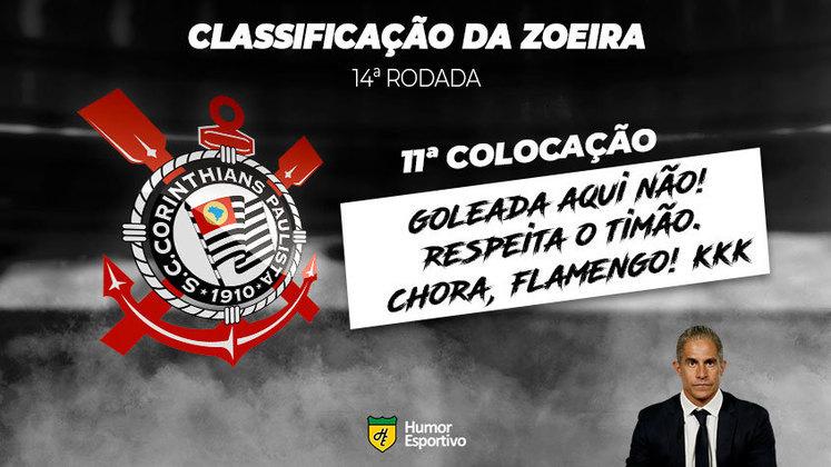 Brasileirão: a Classificação da Zoeira do Humor Esportivo após os jogos da 14ª rodada