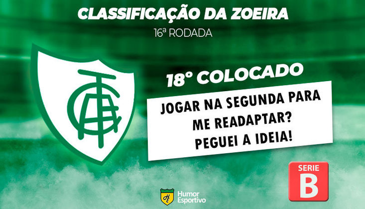 Brasileirão: a Classificação da Zoeira do Humor Esportivo após os jogos da 16ª rodada