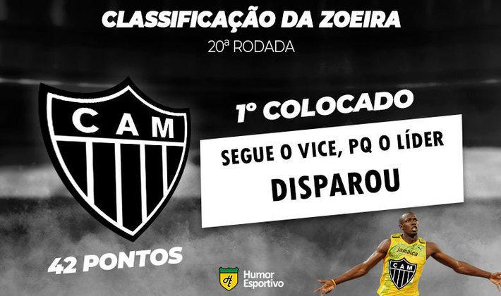 Brasileirão: a Classificação da Zoeira do Humor Esportivo após os jogos da 20ª rodada