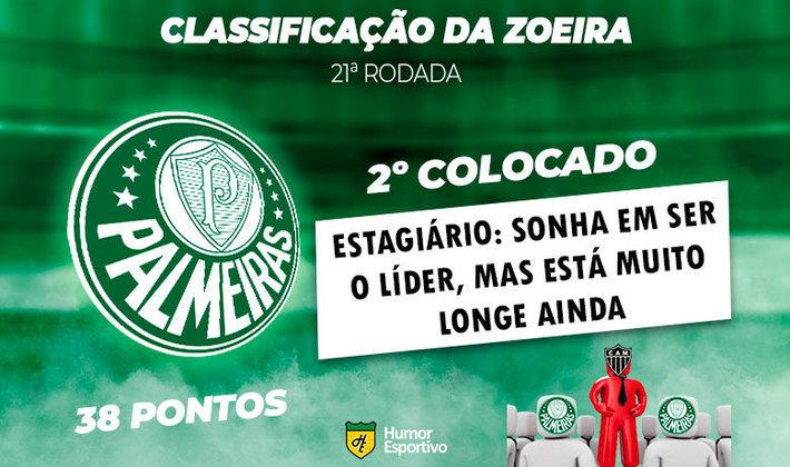 Brasileirão: a Classificação da Zoeira do Humor Esportivo após os jogos da 21ª rodada