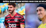 Brasileirão: os melhores memes da goleada do Flamengo sobre o Corinthians