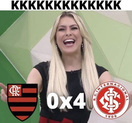 Brasileirão: os melhores memes da goleada do Internacional sobre o Flamengo