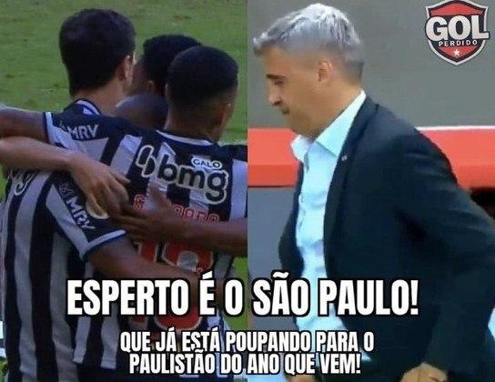 Brasileirão: os melhores memes de Atlético-MG 1 x 0 São Paulo