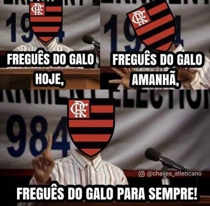Brasileirão: os melhores memes de Atlético-MG 2 x 1 Flamengo