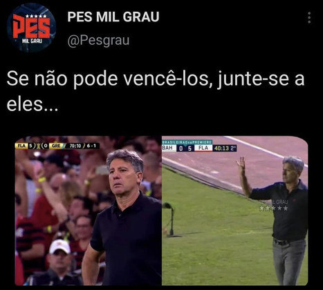 Brasileirão: os melhores memes de Bahia 0 x 5 Flamengo