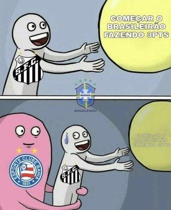 Brasileirão: os melhores memes de Bahia 3 x 0 Santos