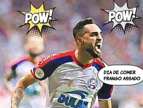 Brasileirão: os melhores memes de Bahia 3 x 1 Atlético-MG
