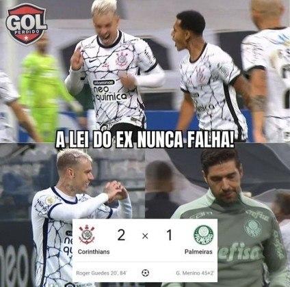 Brasileirão: os melhores memes de Corinthians 2 x 1 Palmeiras