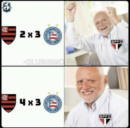 Brasileirão: os melhores memes de Flamengo 4 x 3 Bahia