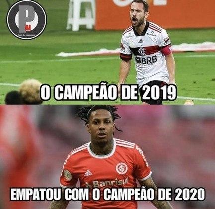 Brasileirão: os melhores memes de Internacional 2 x 2 Flamengo