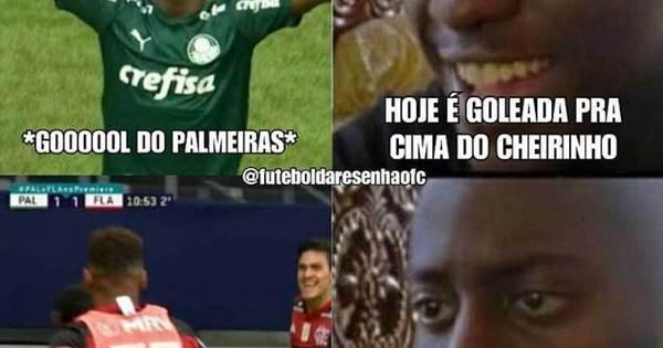Palmeiras Vira Piada Apos Empate Com Flamengo No Brasileirao Esportes R7 Lance