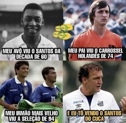 Brasileirão: os melhores memes de São Paulo 0 x 1 Santos
