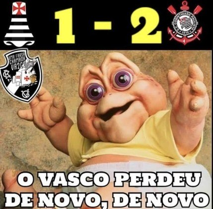 Brasileirão:  os melhores memes de Vasco da Gama 1 x 2 Corinthians