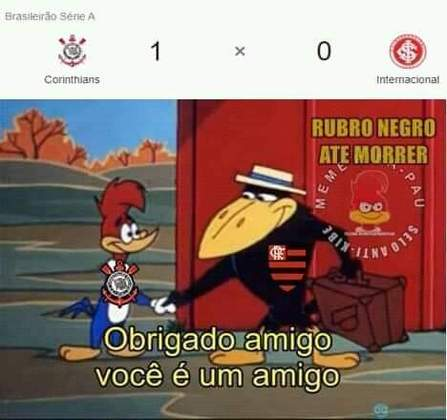 Brasileirão: os memes de Corinthians 1 x 0 Internacional