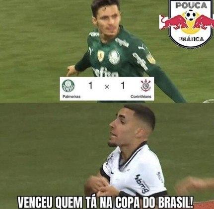 Brasileirão: os memes de Palmeiras 1 x 1 Corinthians