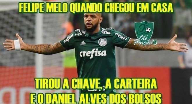 Veja a repercussão e os memes nas redes do empate no clássico entre Palmeiras e São Paulo