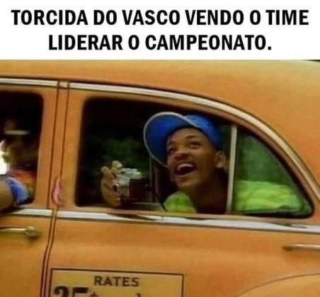 Brasileirão: Vasco derrota o Ceará, vira líder e memes fazem sucesso nas redes sociais