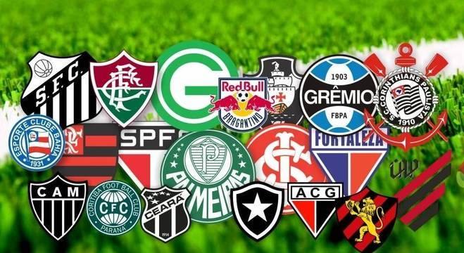 Os vinte clubes do Brasileiro de 2020