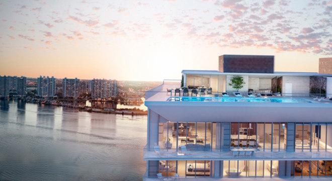 Prédio que será inaugurado em Miami atrai milionário brasileiros