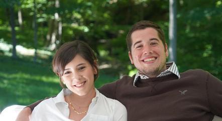 Fernanda e o marido, Eric, já foram imunizados