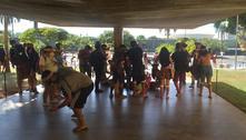 PM e indígenas entram em confronto durante ato em Brasília