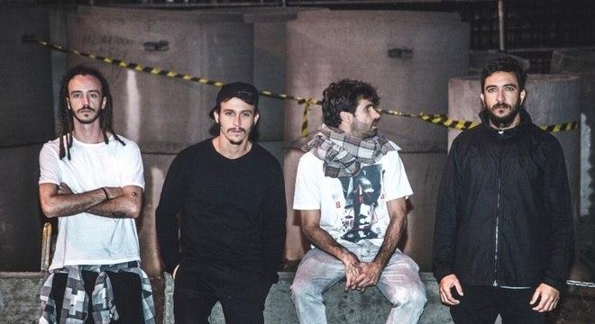 O BRAZA está em turnê do EP Liquidificador