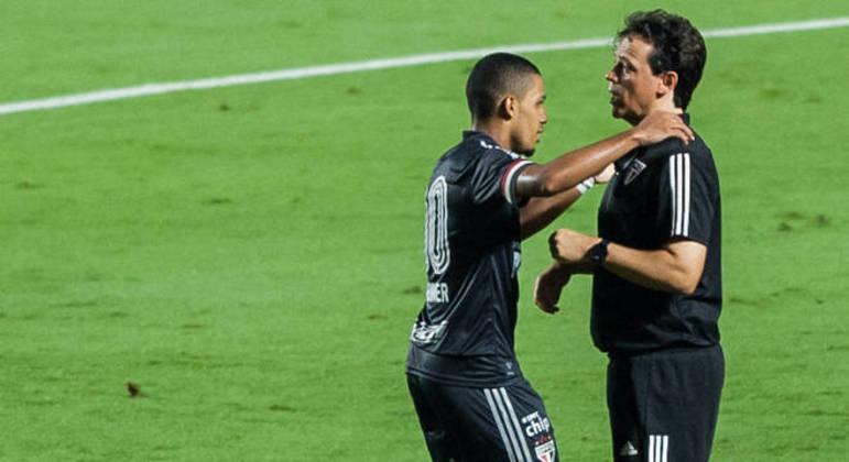 Brenner e Fernando Diniz. Um foi fundamental para o outro, nesta temporada