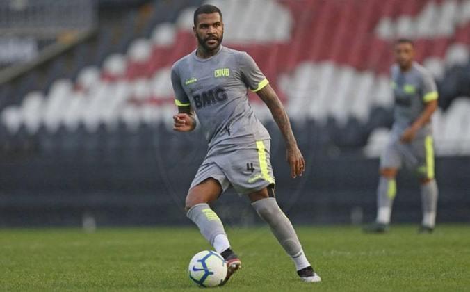 Breno: zagueiro do Vasco, 31 anos, contrato até dezembro deste ano. Fez apenas cinco jogos como titular