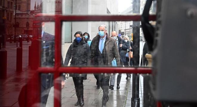 Negociador da União Europeia, Michel Barnier deixou Londres sem fechar acordo