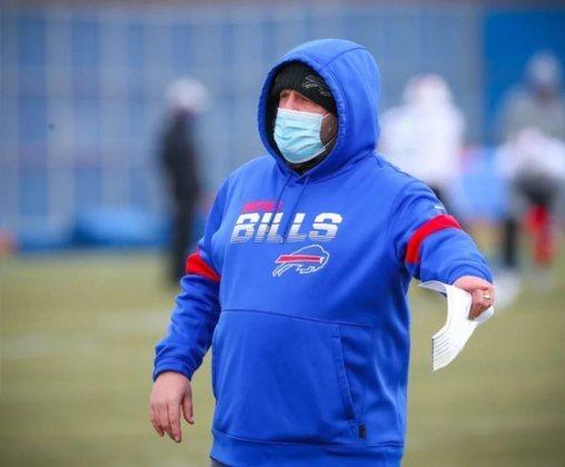 Brian Daboll – Coordenador ofensivo do Buffalo Bills: O cara que, pacientemente, transformou Josh Allen em um dos melhores quarterbacks da NFL e o ataque dos Bills em uma máquina.