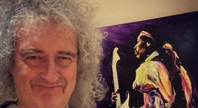 """Brian May (Queen) diz que depressão o """"paralisou"""" no final de ano"""