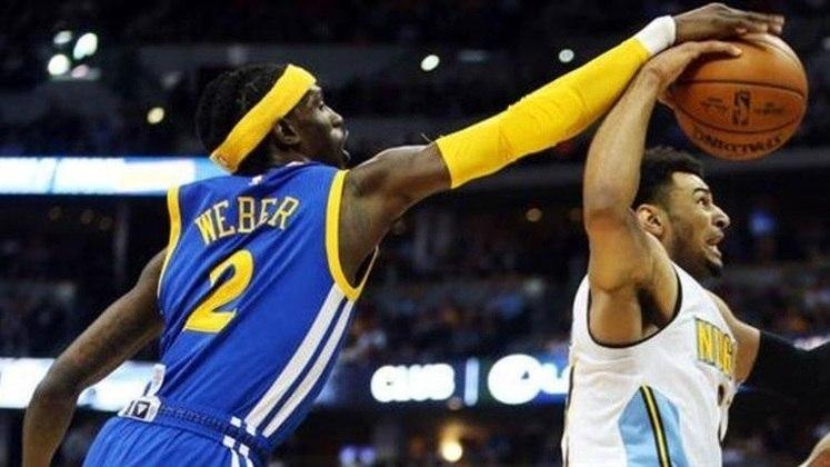 Briante Weber - Foram apenas sete jogos pelo Golden State Warriors antes de ser dispensado pela equipe californiana em fevereiro de 2017. Totalizou 45 partidas na NBA entre 2015 e 2018, passando por cinco equipes