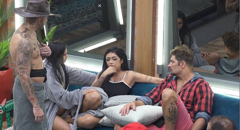 Fernanda Medrado se estranhou com dois colegas de confinamento