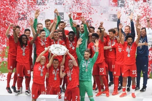 Briga pelo título: Três clubes brigam pelo título da competição faltando nove rodadas para o fim: Bayern de Munique, Borussia Dortmund e RB Leipzig.