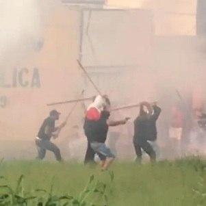 Vídeo mostra briga em Campinas
