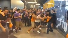Torcedores do Suns e do Clippers brigam feio durante jogo da NBA