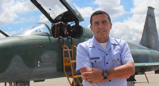 O tenente-brigadeiro Baptista Junior, novo comandante da Aeronáutica