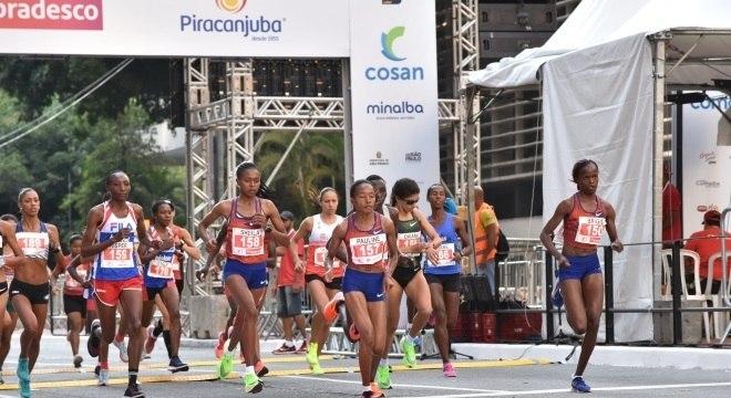 São Silvestre reuniu 35 mil corredores pelas ruas de São Paulo em 2019