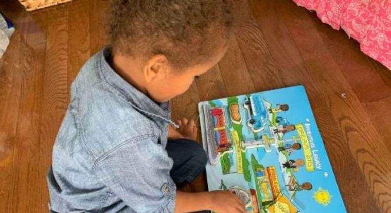 Com o jogo, as crianças podem brincar e aprender ao mesmo tempo