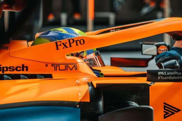 Britânico foi novamente superado pelo companheiro Carlos Sainz na classificação