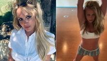 Após pai deixar tutela, Britney faz dança e fala sobre se libertar
