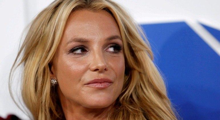 Britney Spears durante premiação da MTV em 2016 em Nova York
