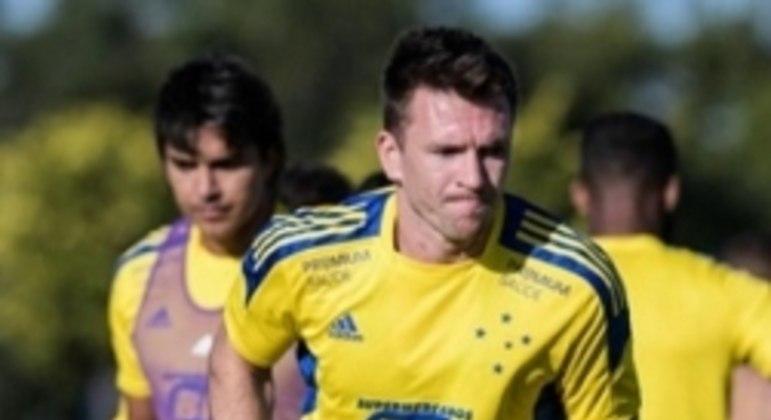 Brock chegou ao Cruzeiro este ano e fica na Raposa até maio de 2022