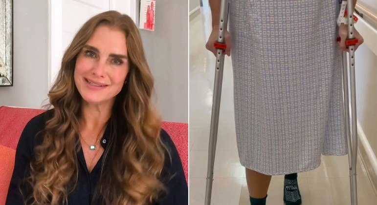 Brooke Shields enfrentou três cirurgias
