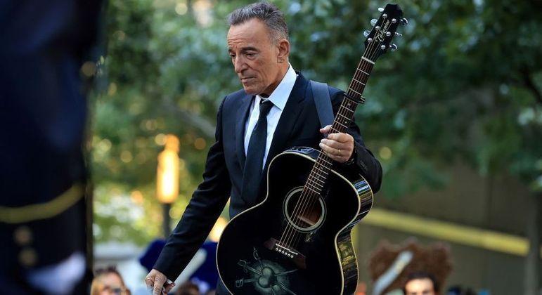 Bruce Springsteen, neste sábado, em evento do 11 de Setembro, em Nova York