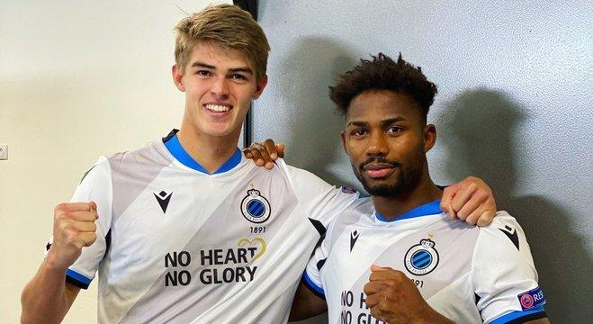 De Ketelaere e Bonaventure, os autores dos gols do Club Brugge